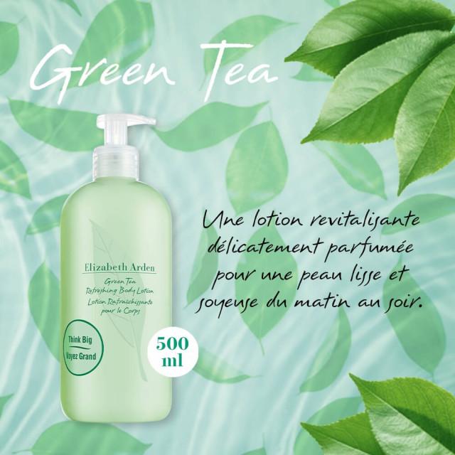 Green Tea  Lotion Rafraichissante Corps