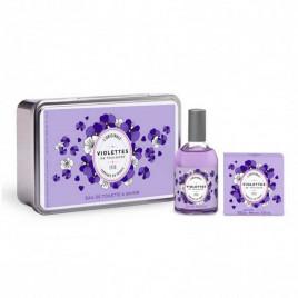 Violettes de Toulouse L'Originale | Coffret Eau de Toilette et Savon