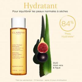 Lotion Tonique Hydratante - CLARINS|Aux extraits d'aloé vera et fleur de safran - Peaux normales à sèches