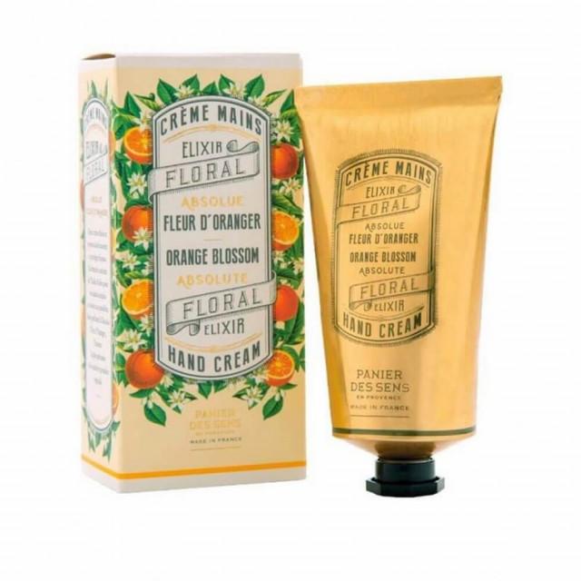 Crème Mains - PANIER DES SENS|Absolue Fleur d'Oranger