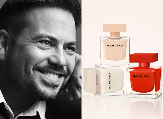 Parfums NARCISO RODRIGUEZ : la success story d'un créateur de génie